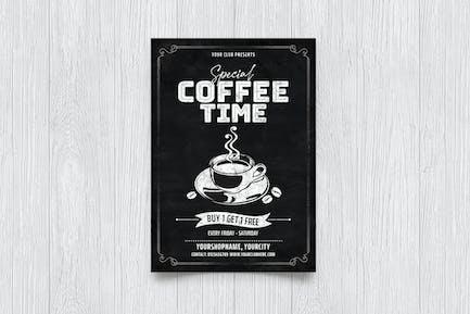 Coffee Chalkboard Flyer