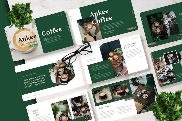 Thumbnail for Ankee - Кофейня Powerpoint Шаблон