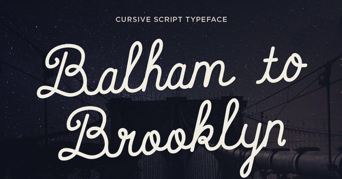 Download Balham to Brooklyn font by simonok