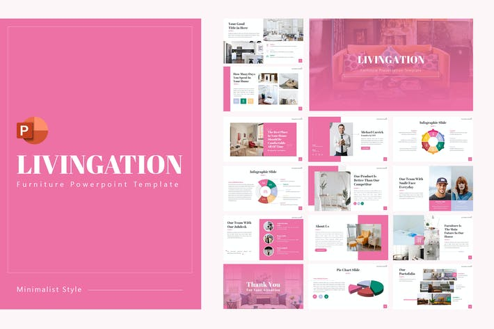 Cover Image For Livingation PowerPoint Template