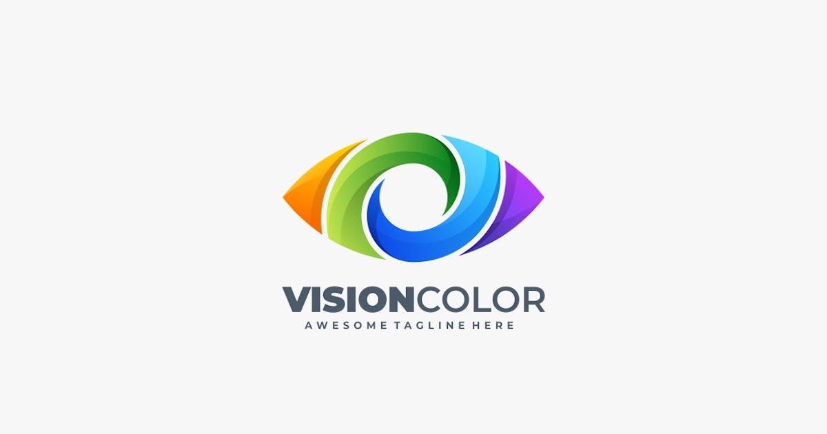 Download Vision Color Gradient Logo Template by ivan_artnivora