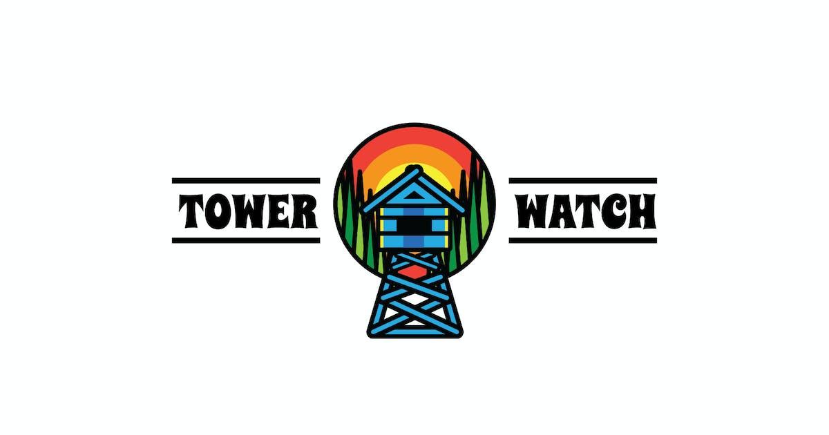 Download Tower Watch - Mascot & Esport Logo by aqrstudio