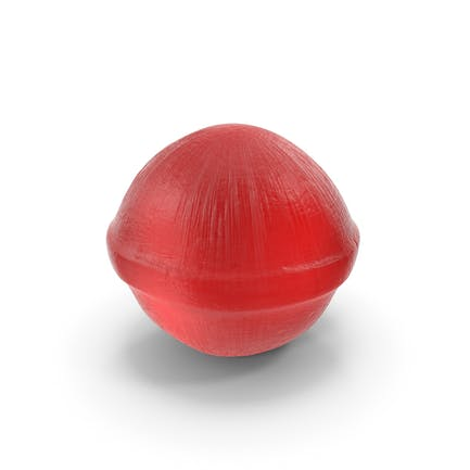Spherical Hard Candy Red