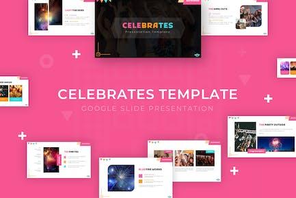 Celebrates - Google Slide Template