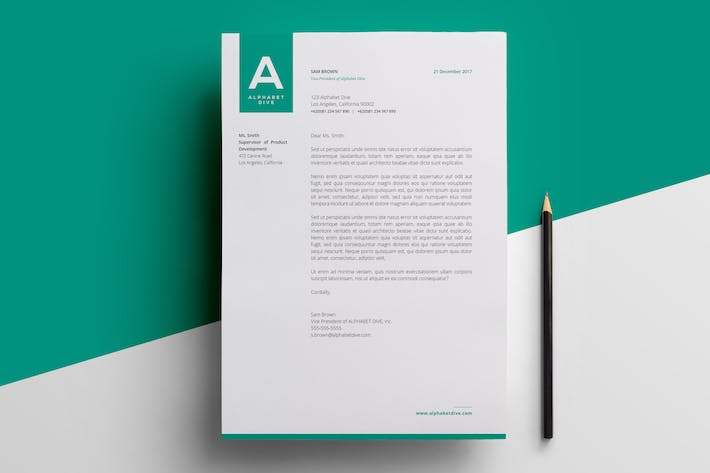 Thumbnail for Corporate Letterhead