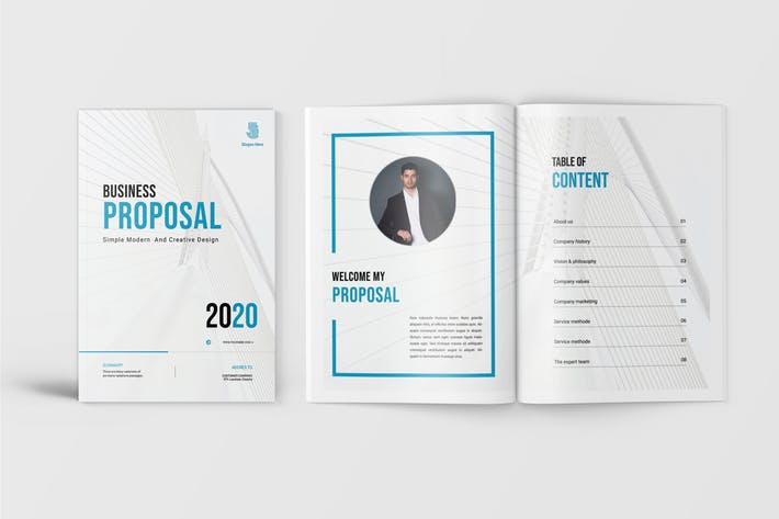 Thumbnail for Blues - Business Profile Template