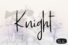 Knight Simple Font