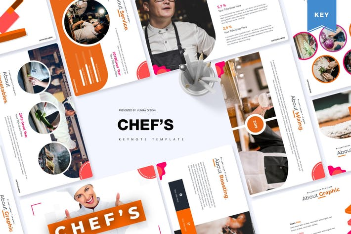 Thumbnail for Chef's | Keynote Template