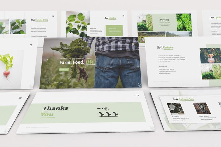 Thumbnail for The Farmer Keynote Template