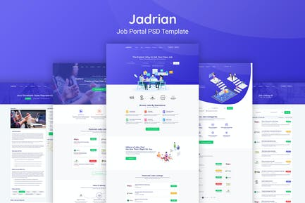 Jadrian - Stellenportal PSD Vorlage