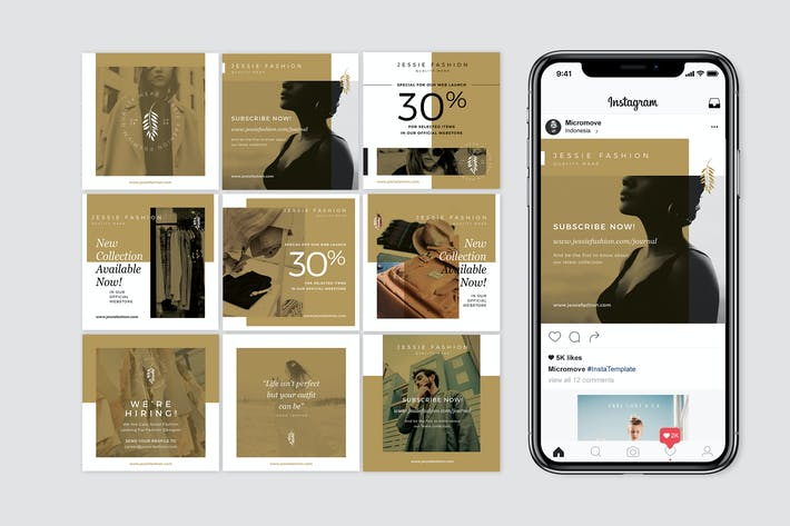 Cover Image For Instagram Fashion Banner