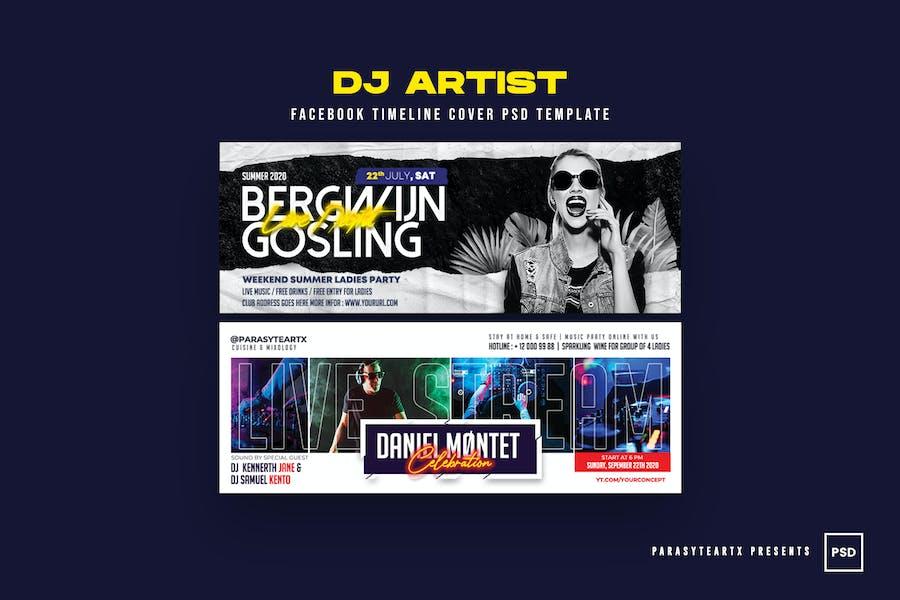 DJ Artist Facebook Cover