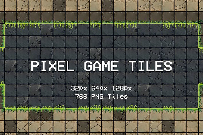 Pixel Game Tiles