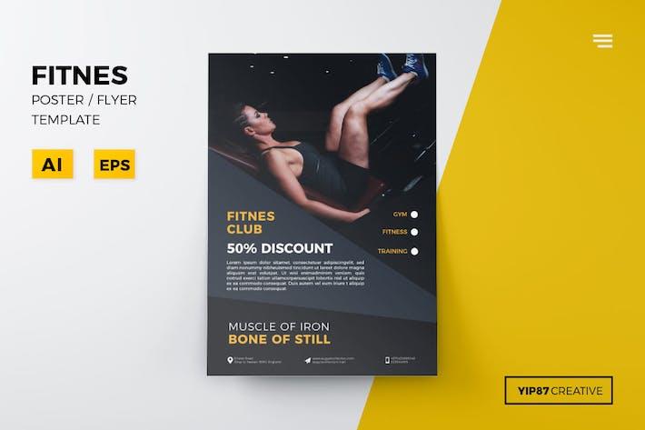 Thumbnail for Fitnes Flyer