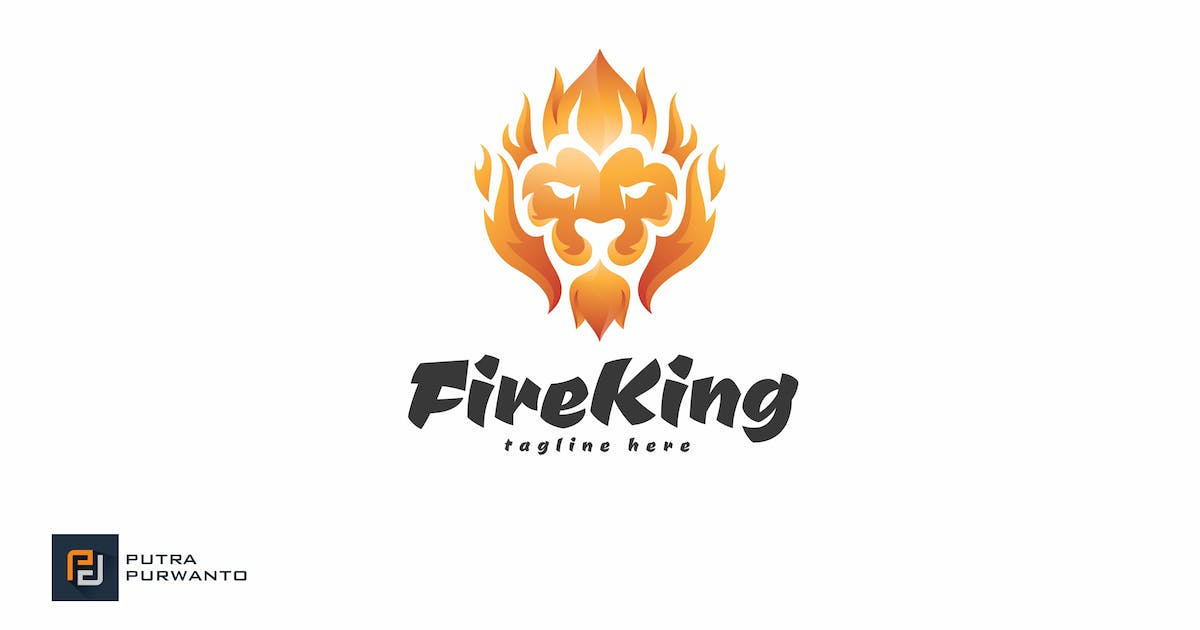 Download Fire King - Logo Template by putra_purwanto