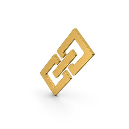 Symbol Glieder/ Kette Gold