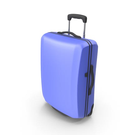Blau Koffer