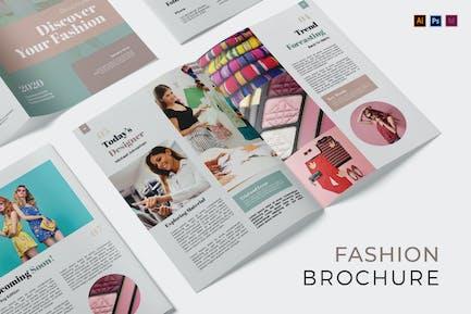 Fashion Style Broschüre