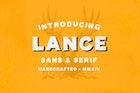Lance Sans & Serif Font Duo