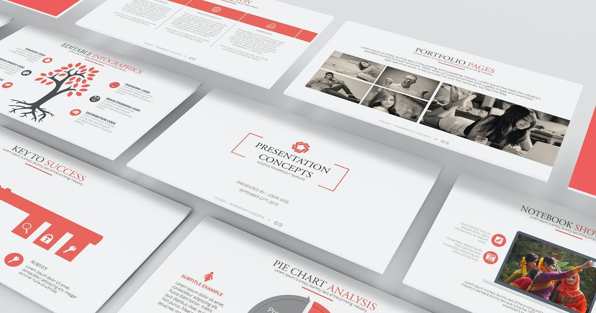 Download Axis Powerpoint Template by Unknow