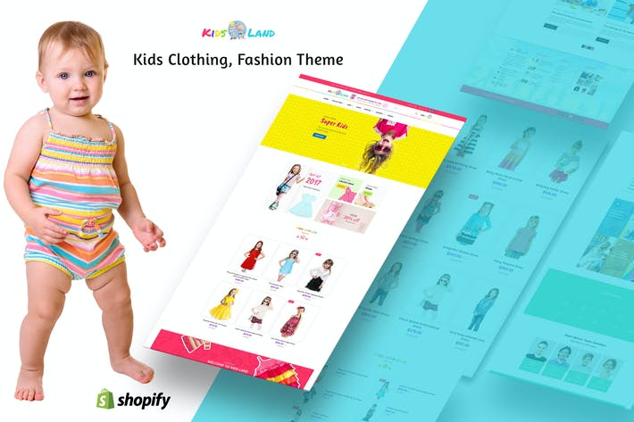 Thumbnail for Kids Store | Kids Clothing, Fashion Shopify Theme