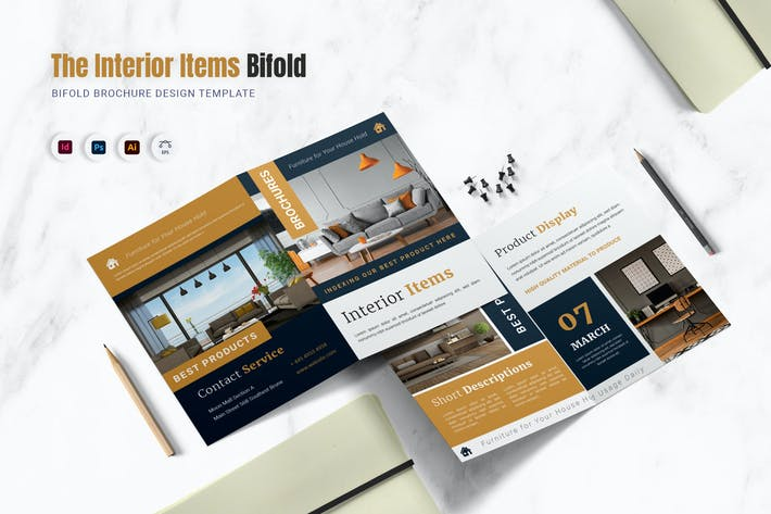 Interior Items Bifold Brochure