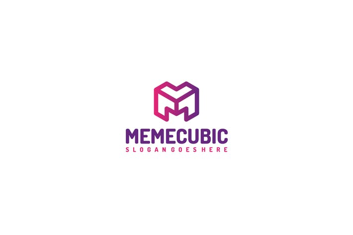 Thumbnail for Cubic M Letter Logo