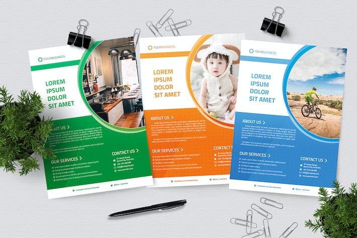 Thumbnail for Multipurpose Business Flyer Templates