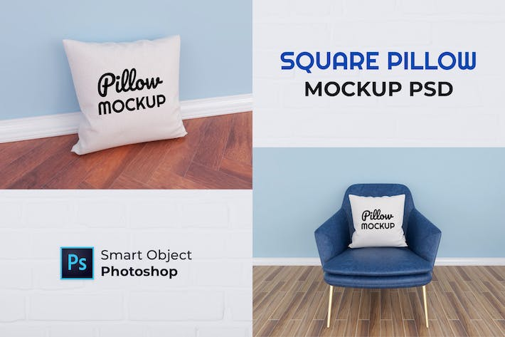 Thumbnail for Pillow Mockup - Nuzie