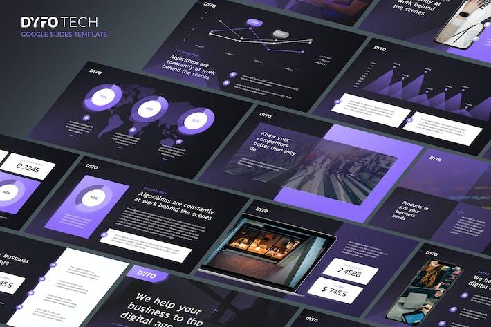 DYFO - Technology Theme Google Slides