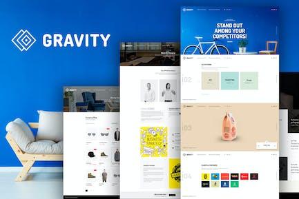Gravity -  Agency & Presentation Template