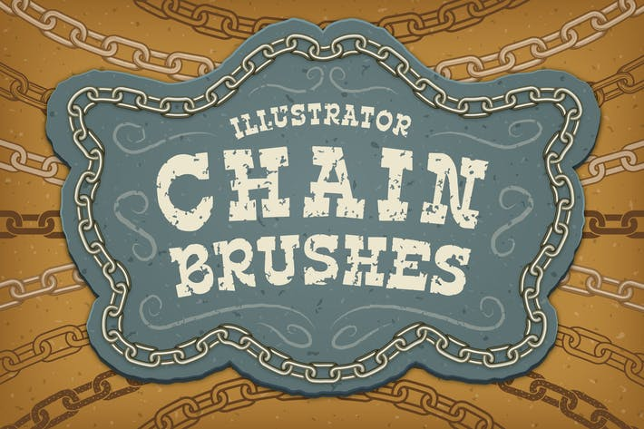Thumbnail for Illustrator Chain Brushes