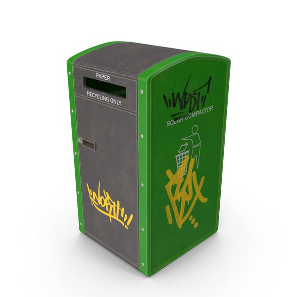 Утилизация мусорный бак