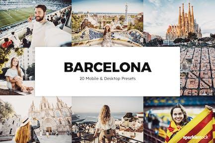 20 Barcelona Lightroom Presets & LUTs