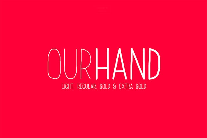 Cover Image For Our Hand Family