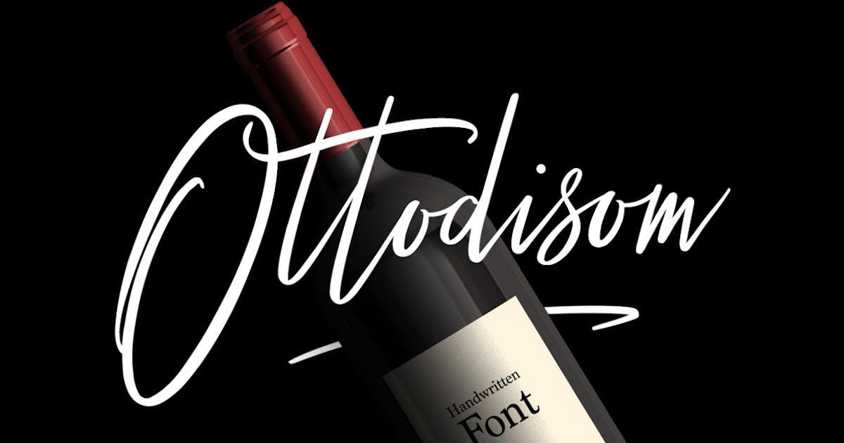 Download Ottodisom Typeface by maulanacreative
