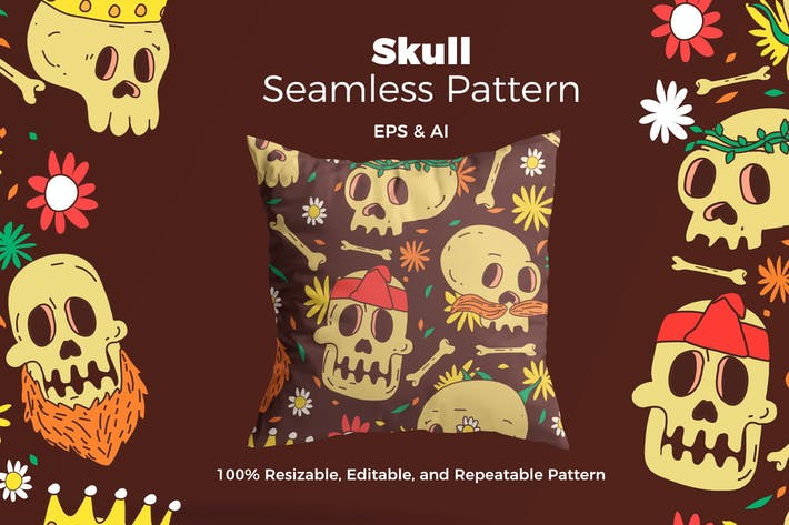 Thumbnail for Skull Pattern
