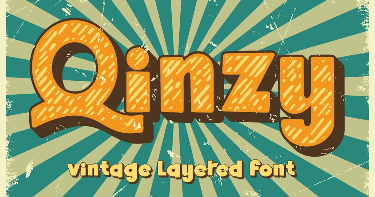 Download Qinzy - Vintage Font by Attype-Studio