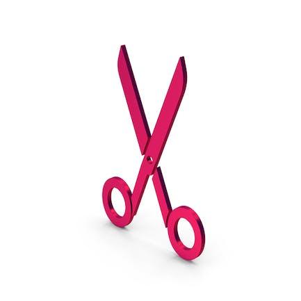 Symbol Scissors Metallic
