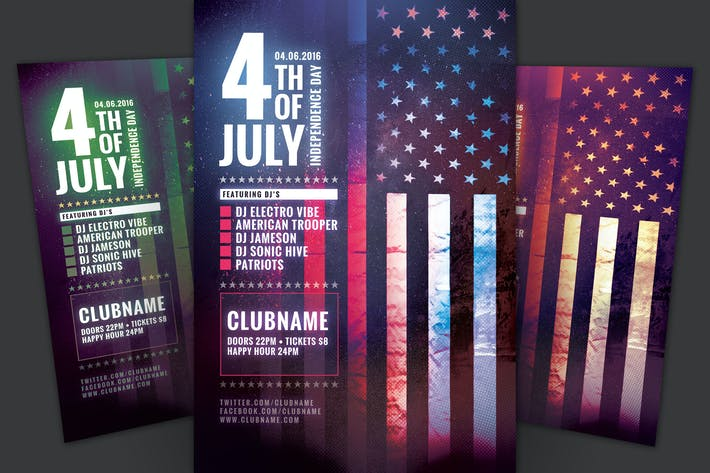 Thumbnail for Fourth of July Flyer