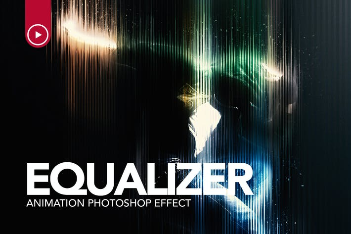 Thumbnail for Equaliser Animation Photoshop Action