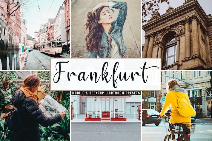 Thumbnail for Frankfurt Mobile & Desktop Lightroom Presets
