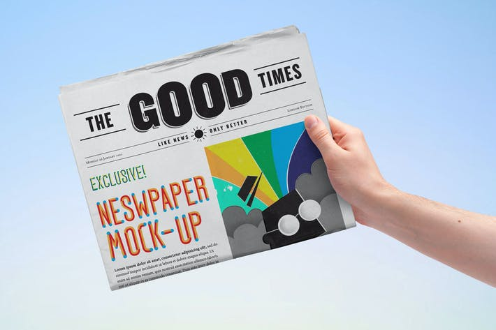 Thumbnail for Newspaper Mock-up Vol.2
