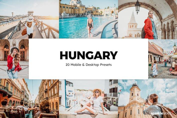 20 Венгерские пресеты и LUT Lightroom