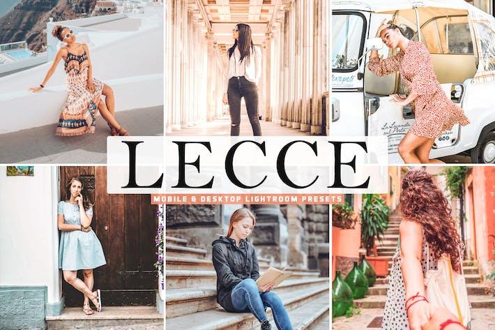 Thumbnail for Lecce Mobile & Desktop Lightroom Presets