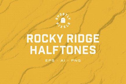 Rocky Halftone Texturen