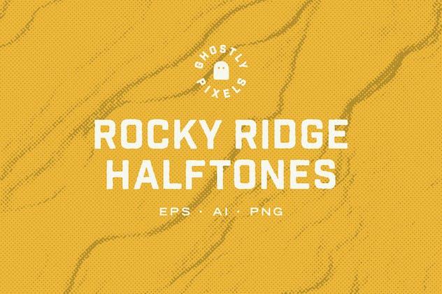 Rocky Halftone Textures