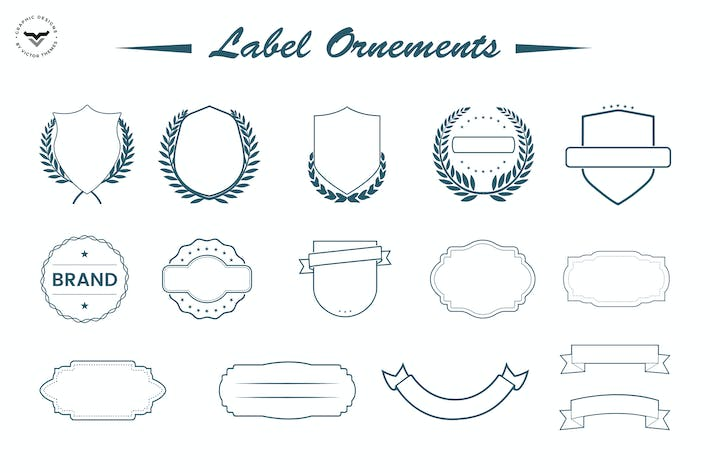 Thumbnail for Label Ornaments