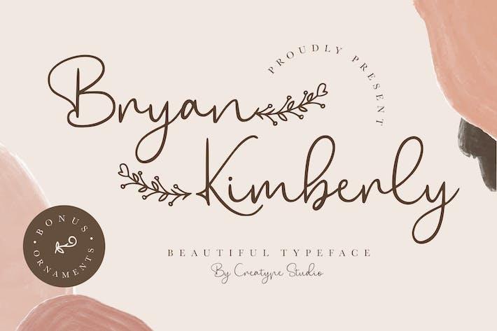 Thumbnail for Bryan Kimberly Beautiful Tipo de letra