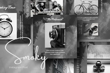Smoky Instagram Post